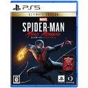 SONY PS5ソフト Marvels SpiderMan Miles Morales スパイダーマン Ultimate Edition マイルズモラレス