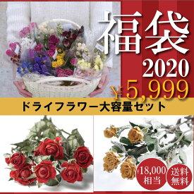 【即納】ドライフラワー 花材 20束 福袋 送料無料