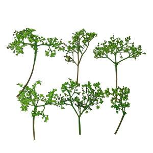 【即納】固まるハーバリウム クリアリウム ニワトコ グリーン 12枚 押し花 花