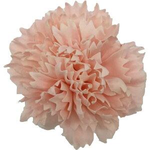 【即納】フレグランス ソープフラワー 花材 カーネーション ライトピンク 1輪 石鹸素材のお花 ソープ フラワー