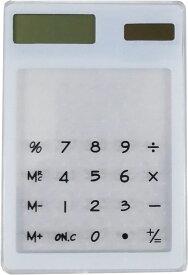 【即納】クリアリウム ハーバリウム アクセサリー 電卓 ソーラーパネル式 ホワイト 固まるハーバリウム オリジナル ハンドメイド おうち時間