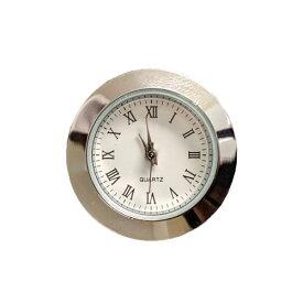 【即納】 クリアリウムウォッチG ミニローマ数字シルバー クリアリウム 置時計 時計 ウォッチ ローマ数字 ミニ シンプル シルバー 固まるハーバリウム インテリア オリジナル ハンドメイド おうち時間