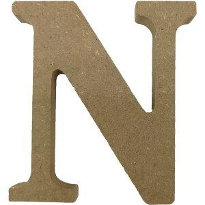 【即納】木製アルファベット文字 N スタンドタイプ 1個 100×93×15mm 固まるハーバリウム 装飾 装飾品 クリアリウム アクセサリー ハーバリウム アクセント オリジナル おうち時間 材料 飾り