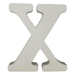 【即納】木製アルファベット文字 X スタンドタイプ 白 1個 100×90×15mm 固まるハーバリウム 装飾 装飾品 クリアリウム アクセサリー ハーバリウム アクセント オリジナル おうち時間 材料 飾り