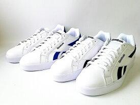 9/30日18時まで期日限定価格 REEBOK RYLCMPLT3 LOW WHITE-COLLEGIATE ROYAL(DV8648)・WHITE-COLLEGIATE NAVY(DV8649) リーボック メンズ テニス (25.5cm-29cm)