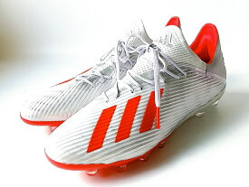 adidas X 19.2 HG AG SILVMT-HIRERE-FTWWHT(F35333)アディダス エックス 19.2-ジャパン HG AG 硬い土用 人工芝用 メンズ サッカートレーニングシューズ (25.5cm-28cm)