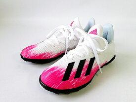 adidas X 19.3 TF J FTWWHT-CBLACK-SHOPNK(EG7174) アディダス X 19.3 TF J キッズ サッカー(17cm-19cm)