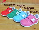 ♪NEW BALANCE KV220▼RED/WHT(BCI)・GREEN/YEL(BDI)・LIGHT BLUE(BFI)・PINK(BEI)▼ニューバランス ベビー・キッズ ランニングシュー…