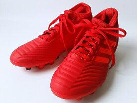adidas PREDATOR19.3HG/AGJ ACTRED/SOLRED/CBLACK(F97361) アディダス キッズ・ジュニア サッカートレーニング シューズ(18cm-24.5cm)