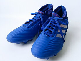 adidas PREDATOR19.3HG/AGJ BOBLUE/SILVMT/ACTRED(F97360) アディダス キッズ・ジュニア サッカートレーニング シューズ(21cm-24.5cm)