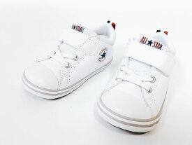 8/12日18時まで期日限定価格 CONVERSE MINI ALL STAR N V-1▼WHITE(ホワイト)7CL687▼コンバース ファーストスター オールスター N V-1▼子供靴 ファーストシューズ ギフトボックス付き