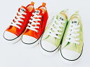 CONVERSE CHILD ALL STAR N NEONCOLORS Z OX CORAL(3SC348)・LIME(3SC349) コンバース キッズ スニーカー 子供靴 (15cm-22cm)