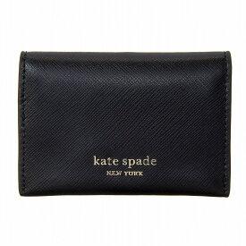 ケイトスペード 名刺入れ カードケース SPENCER BIFOLD CARD CASE スペンサー PWRU7915 001 レディース BLACK ブラック kate spade new york
