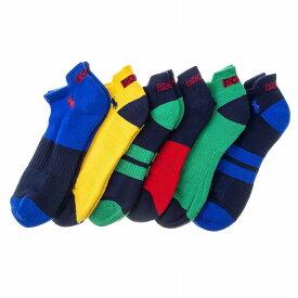 ポロラルフローレン ソックス 靴下 827335PK 499 6足セット メンズ POLO RALPH LAUREN【ラッピング可能(有料)】