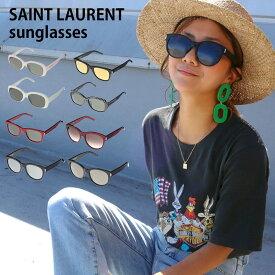 サンローラン サングラス 【全8色】 メンズ レディース グレー レッド ブラック YSL SAINT LAURENT【ラッピング可能(有料)】