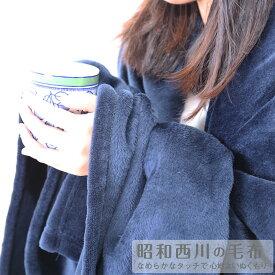 ◆ネットオリジナル◆[昭和西川直営]ニューマイヤー毛布約1.3kg/180×200cmダブル ウォッシャブル洗える冬あったか 静電気防止加工ダブル