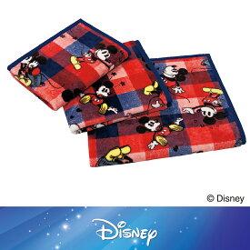 [Disney] ニューマイヤー毛布(チェック)/ミッキーマウス 140×190cm