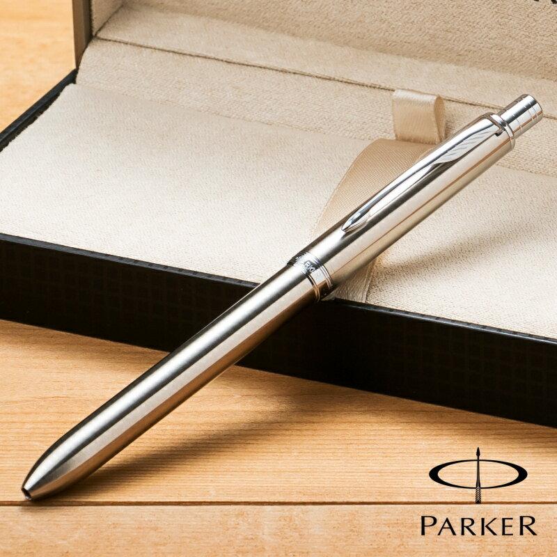 パーカー PARKER ソネット オリジナル マルチファンクションペン ステンレススチール CT