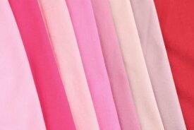 【7/1〜最小購入数1m以上〜50cm単位】シーチング(ピンクカラー) 布 生地 手作り