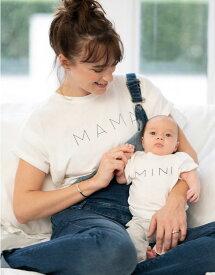 Seraphine ALBA <授乳対応>ママ&ミニ マタニティトップセット -ホワイト