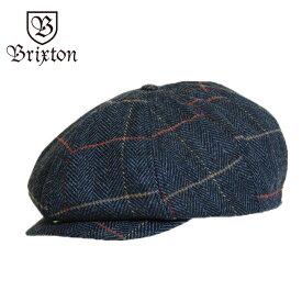BRIXTON ブリクストン ハンチング BROOD SNAP CAP NAVY PLAID ブラッド スナップ キャップ レディース メンズ 男性 女性 帽子 ネイビー 紺