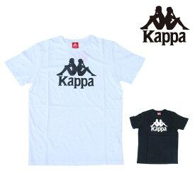 カッパ KAPPA プリント TEE AUTHENTIC ESTESSI T-SHIRT BLACK WHITE バンダ コレクション 半袖 Tシャツ トップス メンズ 男性 レディース 女性 ブラック 黒 ホワイト 白