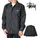 STUSSY ステューシー コーチ ジャケット メンズ S M L XL XXL 2L 3Lサイズ ブラック レディース CRUIZE COACH JACKET …