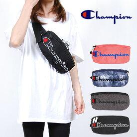 USモデル CHAMPION チャンピオン ビッグロゴ ミニバッグ PRIME SLING PACK BAG プライム ウェストバッグ ウェストポーチ ボディバッグ 鞄 バック ブラック ダークグレー コーラル ネイビー 黒 紺 メンズ 男性 レディース 女性