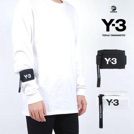 Y-3(adidas×Yohji Yamamoto) Y3 MINI WRIST WALLET BLACK WHITE ワイスリー アディダス ヨージヤマモト ロゴ ミニ リスト ウォレット ブラック 黒 ホワイト 白 メンズ 男性 小物 ミニウォレット コインケース ミニ財布 アクセサリー ストリート ワンポイント