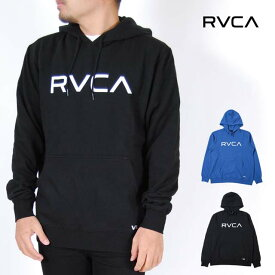 RVCA ルーカ パーカー メンズ レディース S M L XLサイズ ブラック ナチュラル ブルー BIG RVCA HOODIE 裏起毛 USモデル