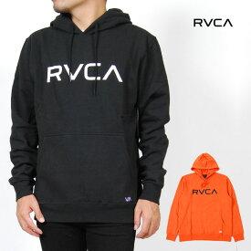 RVCA ルーカ パーカー メンズ レディース S M L XLサイズ ブラック オレンジ BIG RVCA RCY HOOD 裏起毛 USモデル