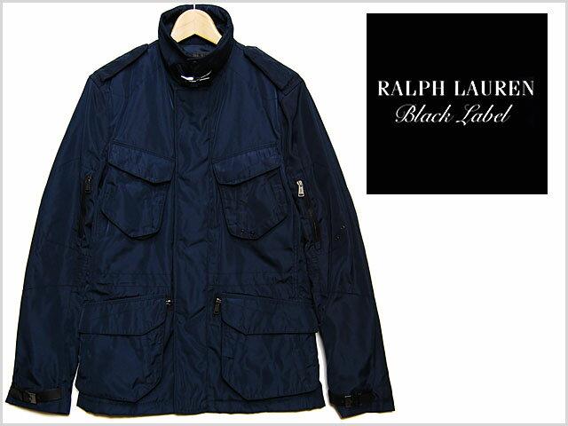 アウトレット RALPH LAUREN BLACK LABEL NYLON M-65 JACKET NAVY ラルフローレン ブラックレーベル ナイロン ジャケット ネイビー 紺 メンズ 男性 ジャケット トップス アウター POLO ポロ ラグジュアリーライン