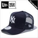 フレームトラッカー ニューヨーク ヤンキース ネイビー ホワイト スナップ