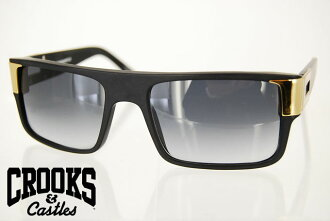 SALE! CROOKS CASTLES CALDERONE SUNGLASS BLACK sunglasses crooks & castles black glasses LA