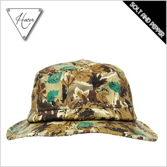 HATER SNAPBACK HUNTERS CAMO BUCKET HAT Hayter snapback hunters duck pail hat jungle camo green green brown tea accessory accessories casual brand men gap Dis man woman HIPHOP hip-hop dance dancer clothes hat hat