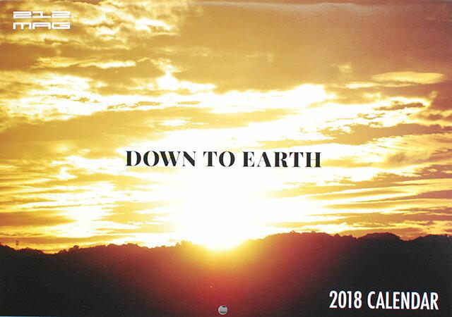 """ネコポス対応 212.MAG 2018 CALENDAR""""DOWN TO EARTH""""ニューヨーク シティー カレンダー 2018 壁掛け ストリート ファッション ライフスタイル グラフィティー 写真集 212 MAG HIPHOP ヒップホップ ブラックカルチャー"""
