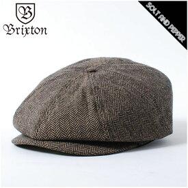 BRIXTON ブリクストン BROOD SNAP CAP BROWN KHAKI ブラッド スナップ キャップ ハンチング レディース メンズ 男性 女性 帽子 ブラウン カーキ 茶