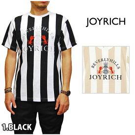 アウトレット JOYRICH ジョイリッチ BOLD LANE TEE WHITE BLACK BEIGE ボールド レーン Tシャツ トップス ブラック 黒 ホワイト 白 ベージュ ストライプ メンズ 男性 レディース 女性 男女兼用 正規品