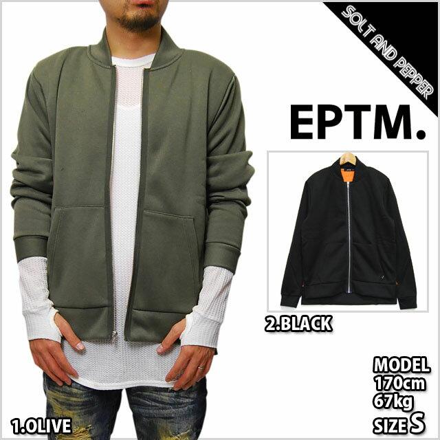 【送料無料】EPTM エピトミ AIR JACKET MA1 OLIVE BLACK HAWK エア ジャケット アウター パーカー オリーブ カーキ ブラック 無地Tシャツ eptm