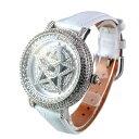 アンコキーヌ ぐるぐる時計 ホワイト/ベルト【ホワイト】 1114-0101 ギフト プレゼント 新生活 ホワイトデー