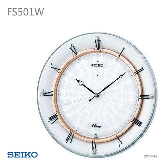 SEIKO Seiko wall clock Disney FS501W