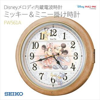 SEIKO seikoizunimikki电波钟表挂钟旋律内置人物FW561A