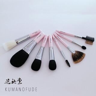 熊野筆晃祐堂アイライナースタンダードシリーズピンクC012Pメイクブラシ化粧筆