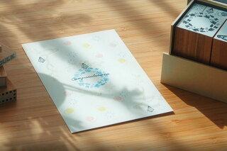 オスコラボOSCOLABOGuteGouterコラボオリジナルスタンプイノチノワCircleofLife手帳カードかわいいはんこギフト