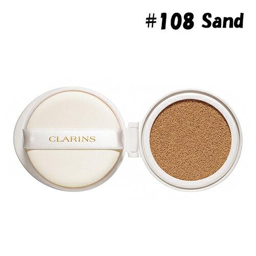 クラランス エヴァーラスティング クッションファンデーション SPF50/PA+++(リフィル) #108 sand