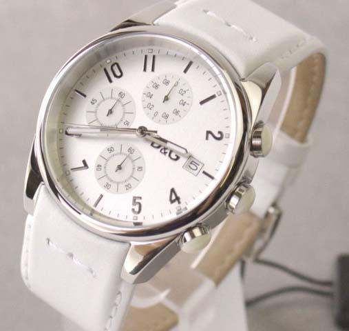 D&G TIME ドルチェ&ガッバーナ SANDPIPERクロノグラフ腕時計 ホワイト 3719770084【ラッピング無料】【楽ギフ_包装】【10P11Mar16】【05P03Dec16】
