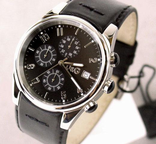 D&G TIME ドルチェ&ガッバーナ SANDPIPERクロノグラフ腕時計 ブラック 3719770097【ラッピング無料】【楽ギフ_包装】【10P11Mar16】【05P03Dec16】