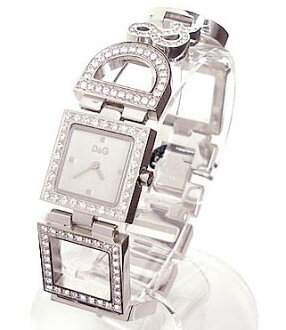 D & G TIME d & g DAY &NIGHT レディースジルコニア with SS belt watch DW0031 10P04Oct1310P13Oct1310P18Oct1310P28Oct13
