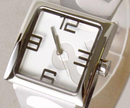 D&G TIME ドルチェ&ガッバーナ ANDY D&Gロゴフェイス時計 DW0036 WHITE【ラッピング無料】【楽ギフ_包装】【10P11Mar16】【05P03Dec16】