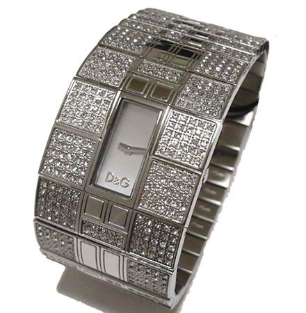 D&G TIME ドルチェ&ガッバーナ Queen MaryレディースSSベルト腕時計 DW0113【ラッピング無料】【楽ギフ_包装】【10P11Mar16】【05P03Dec16】